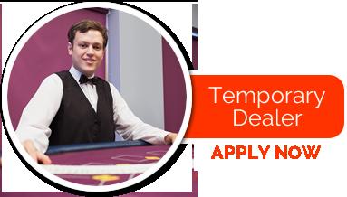 Temporary casino jobs